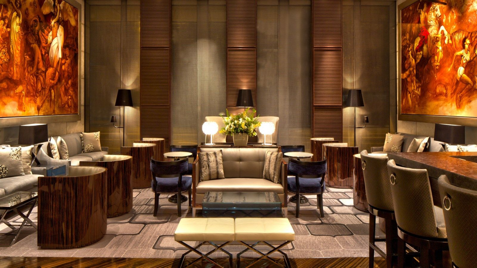 Holiday dining and afternoon tea at The St. Regis San Francisco Lobby Lounge