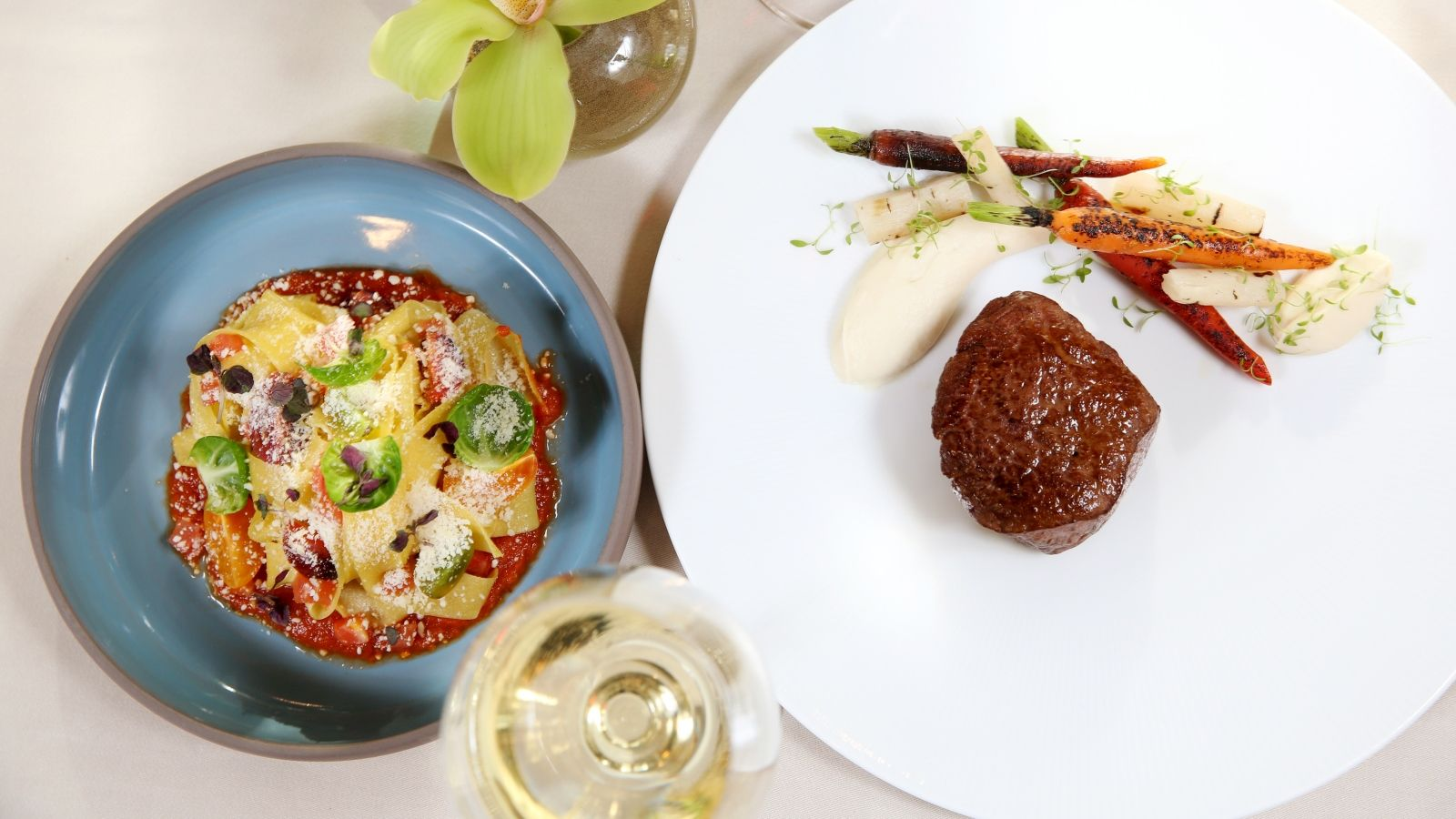 Fall menu items at Grill Restaurant at The St. Regis San Francisco