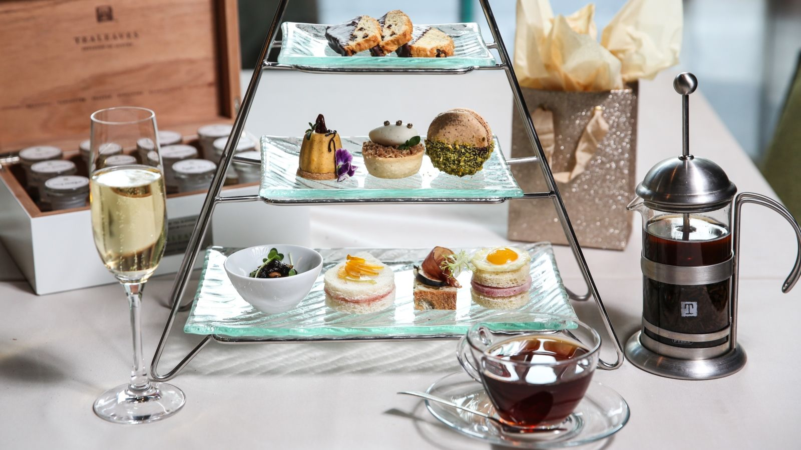 The Art of Tea holiday menu at The St. Regis San Francisco
