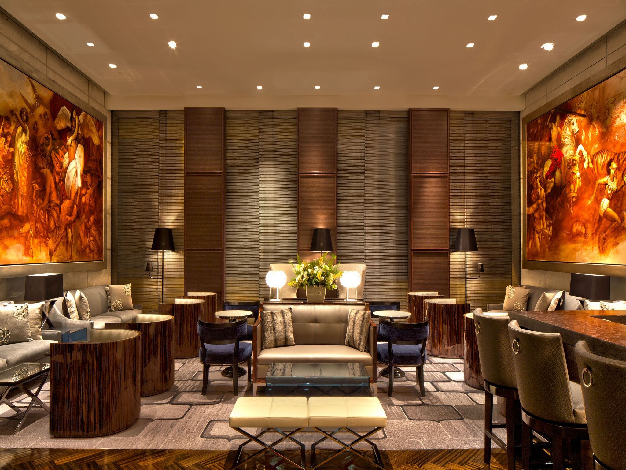 The St. Regis San Francisco - Lobby Bar Lounge